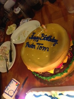 Paster Tom's Birthday
